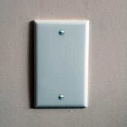 Blank Outlet Plate