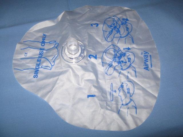 Face Shield - valve