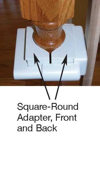Hole-Free Round Adaptors